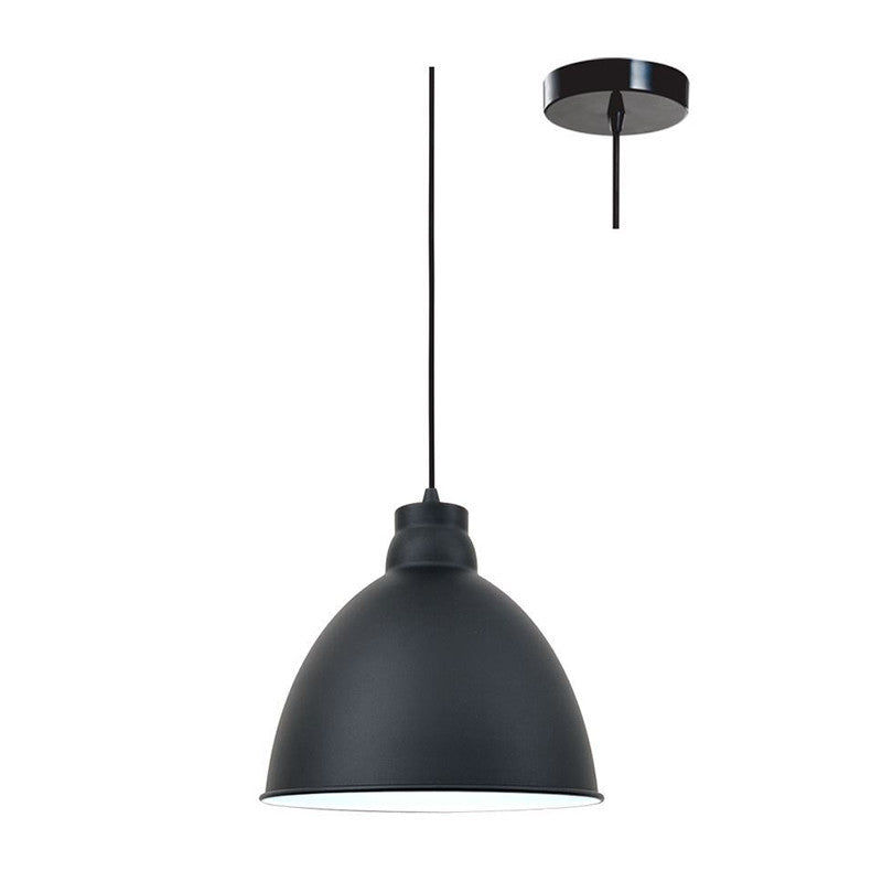 Eurotech Lighting Interior Bell Shade Pendant - Black