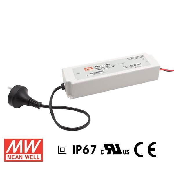Meanwell LED Power Supply 100W 24V - DC Driver from Meanwell for $118.05