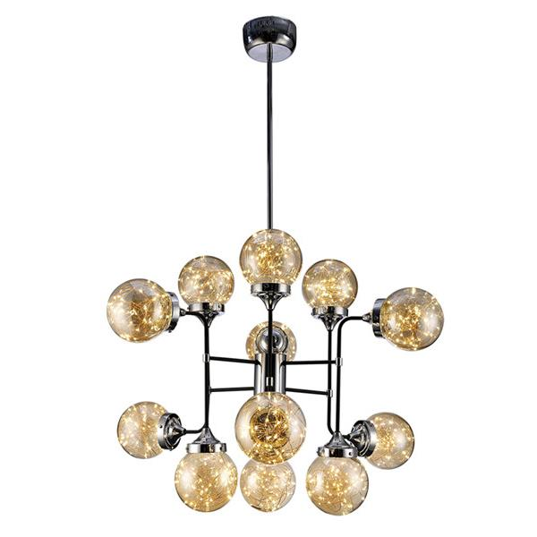 Galaxy Lighting 36W LED Fairy Style Chandelier / Foyer Pendant - Reflective from Galaxy Lighting for $1199.00