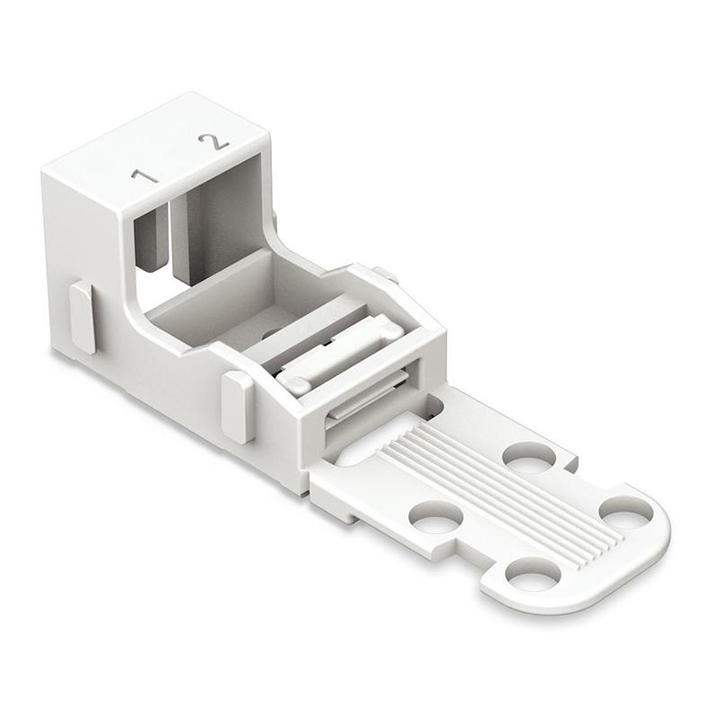 Wago 221-502 Mounting Carrier - 2-Conductor Terminal Block from Wago for $2.07
