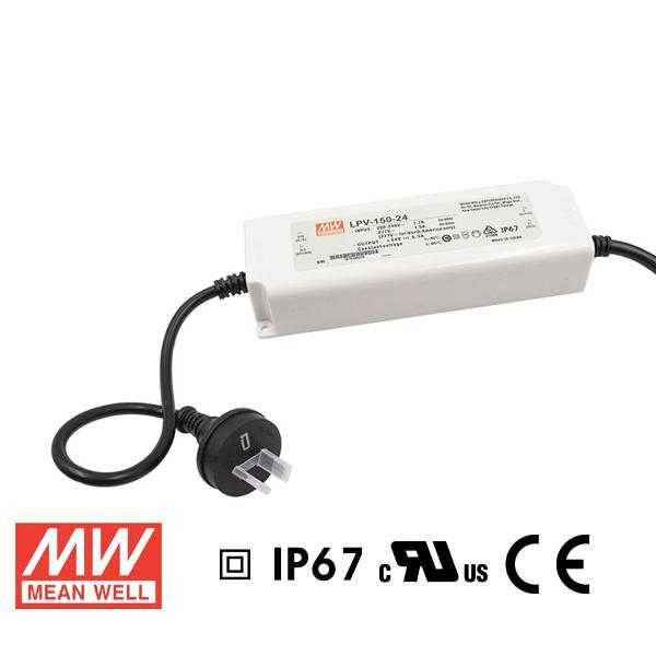 Meanwell LED Power Supply 151.2W 24V - DC Driver from Meanwell for $126.79