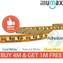 iLLUMAX LED Strip ECO Series 120LEDs/m 9.6W/m 12V from iLLUMAX for $25.98