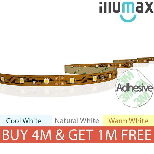 iLLUMAX LED Strip Basic Series 60LEDs/m 4.8W/m 12V from iLLUMAX for $15.95