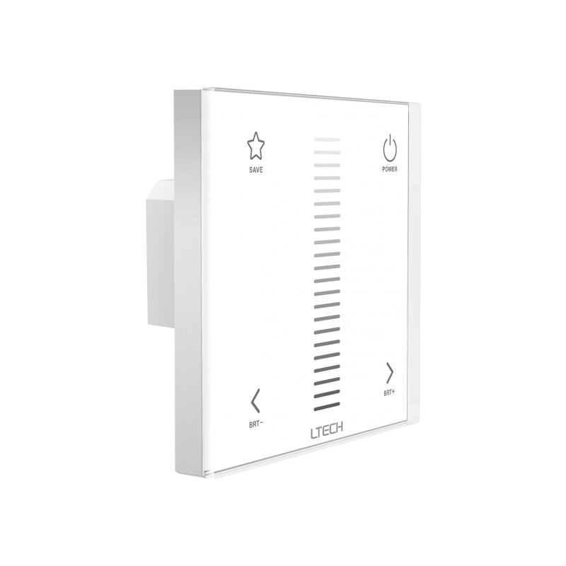 E1 LED Dimmer - Glass Panel, Single Colour, DC from LTECH for $61.39
