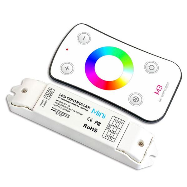 M3+M3-3A Mini Controller with RF Remote - RGB, DC from LTECH for $53.99