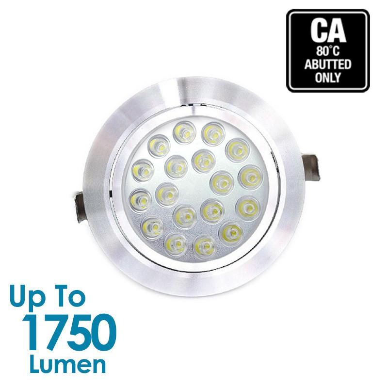 18W LED Downlight - Tiltable from Generic Brand for $95.56