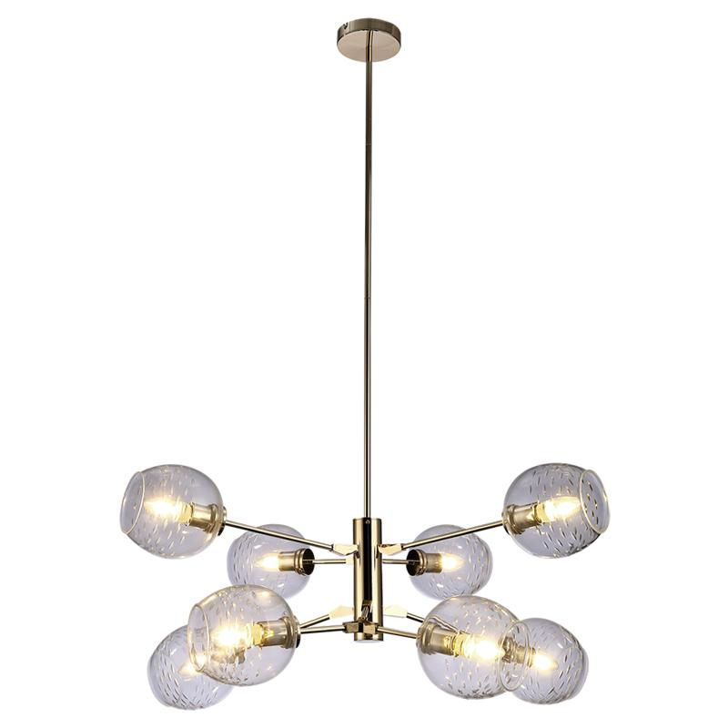 separation shoes 0975f fe7bd Galaxy Lighting Interior Pendant Light - Clear Gold - Fitting Only
