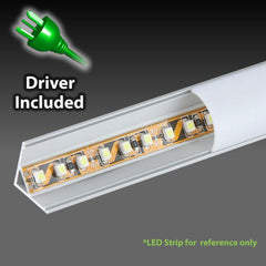 iLLUMAX LED Aluminum Light Bar, EXCR01-120, 1metre / 2metre, Dot Free from iLLUMAX for $72.81