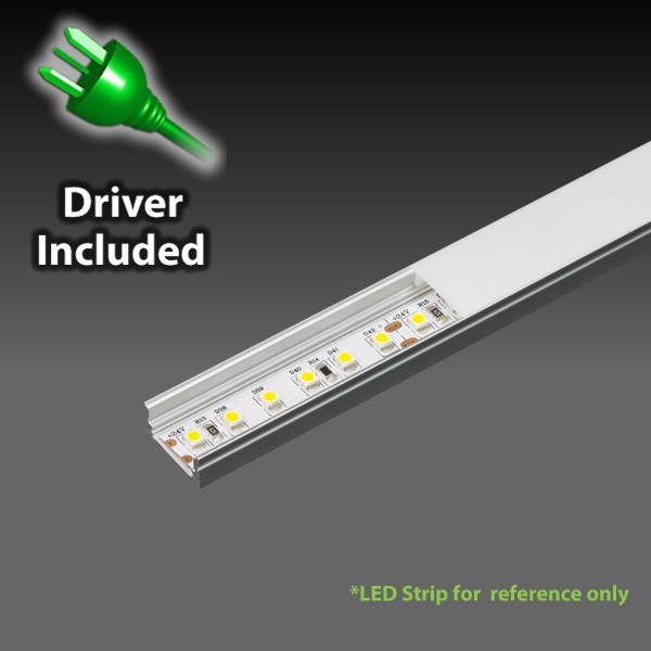 iLLUMAX LED Aluminum Light Bar, EXLP03-120, 1metre / 2metre from iLLUMAX for $82.34