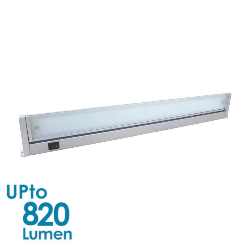 Eurotech Lighting 11W LED Slim Wall Light - Silver Body