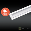 VRITOS TRINUS LED Extrusion 2M - Surface, Recessed, Corner
