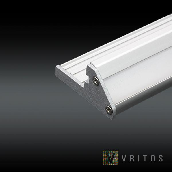 VRITOS ORA LED Extrusion 2M - Stair Treads from VRITOS for $154.38