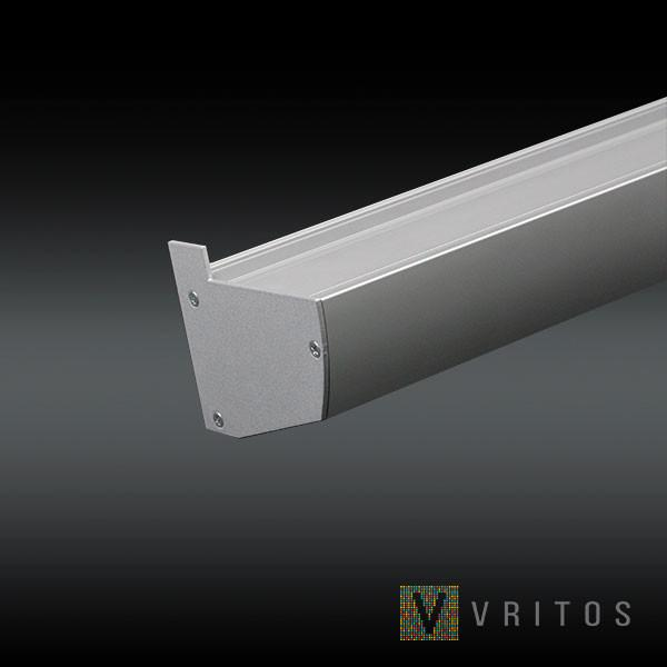 VRITOS FAVEO LED Extrusion 2M - Glass Shelf Support from VRITOS for $294.21
