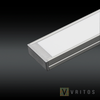 VRITOS LAXUS LED Extrusion 2M - Flat Wide from VRITOS for $92.13
