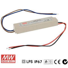 Mean Well LED Power Supply 18W 12V - DC Driver from Meanwell for $34.50