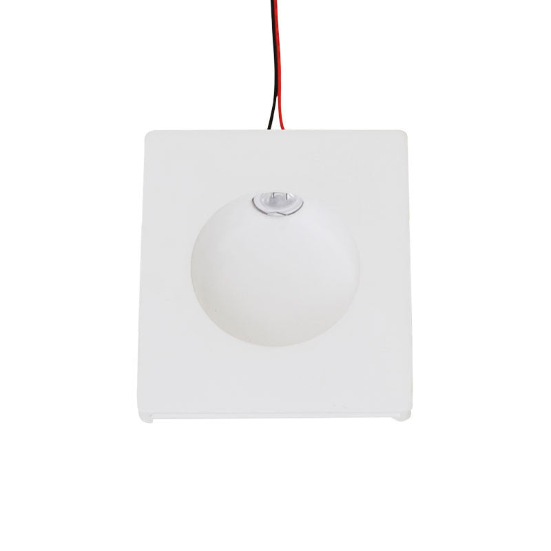 LED 1W Plaster Wall Light - Round from Eurotech Lighting for $108.99