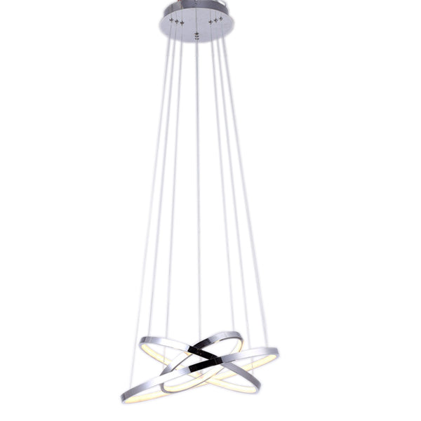 Galaxy Lighting 60W LED Foyer Pendant - Chrome from Galaxy Lighting for $499.00