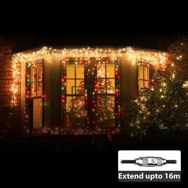 LED Icicle Light - 100LEDs/2m - Extendable up to 16m from LED Warehouse for $49.89