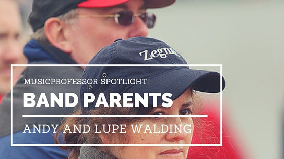 MusicProfessor Spotlight: Marching Band Parents Andy and Lupe Walding