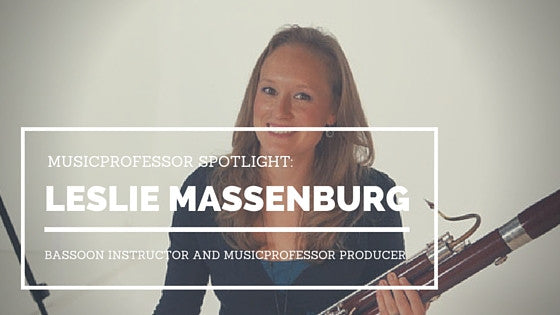 MusicProfessor Spotlight: Bassoon Instructor Leslie Massenburg
