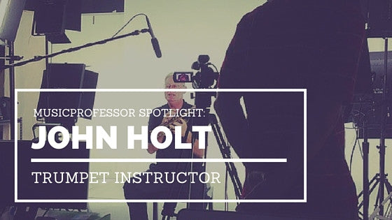 MusicProfessor Spotlight: Trumpet Instructor John Holt