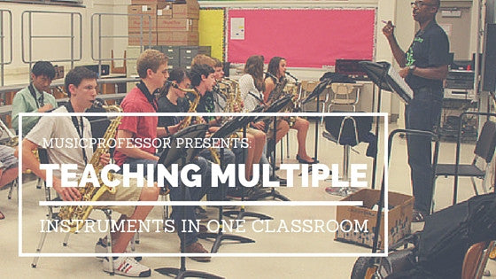 Teaching Multiple Instruments in One Classroom