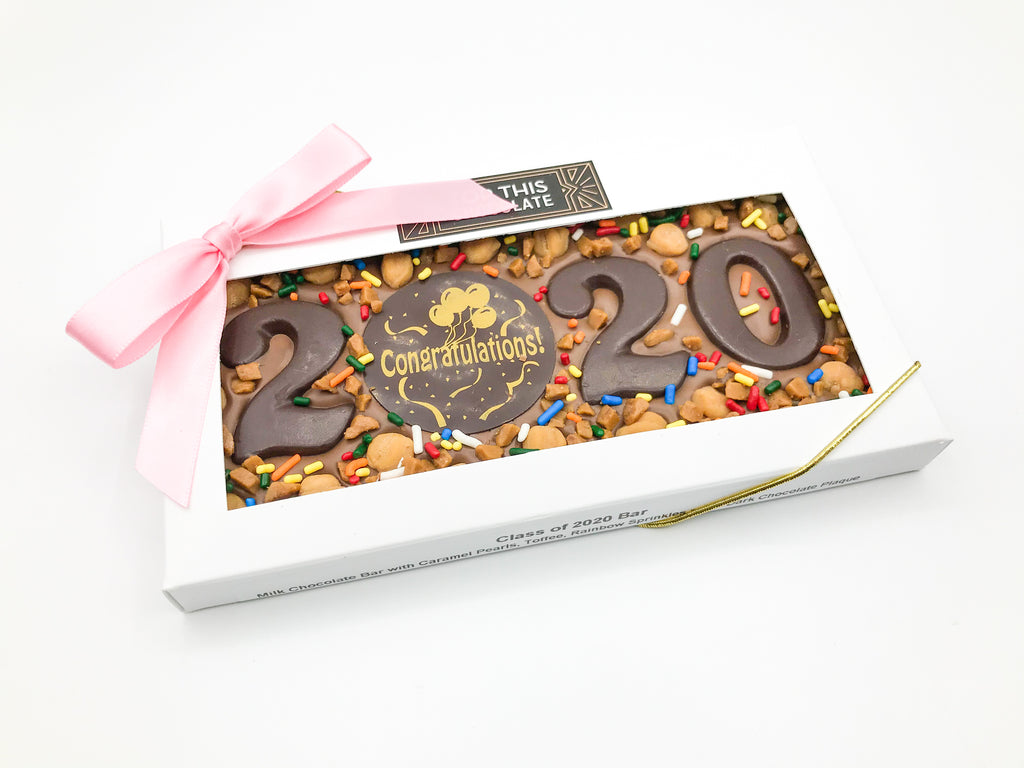Congratulations 2020 Chocolate Bar!