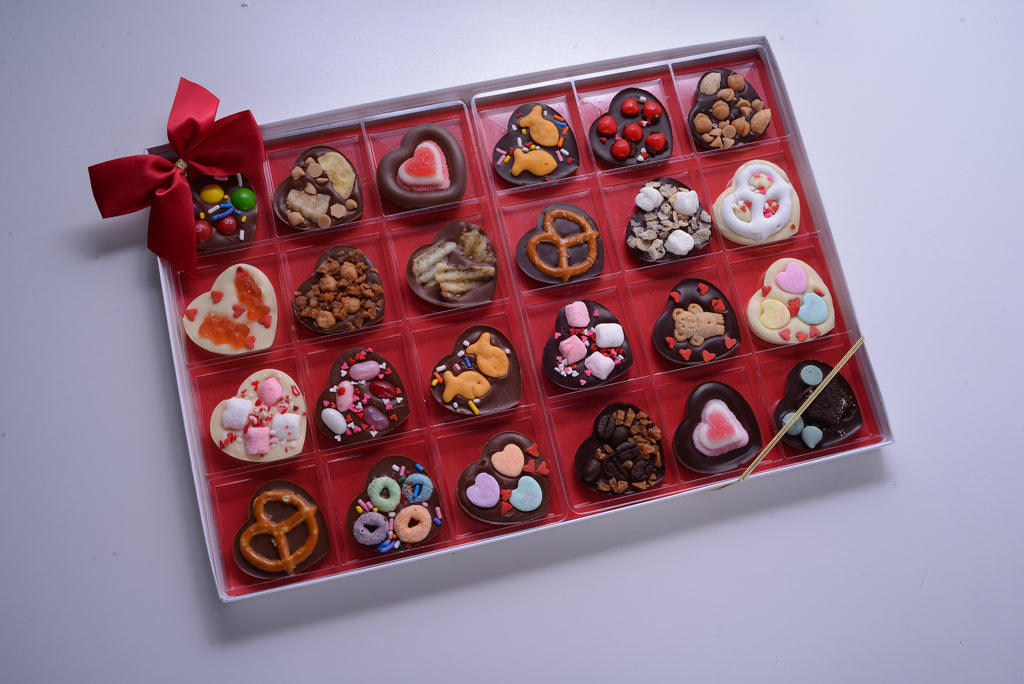Chocolate Hearts Sweet & Salty Variety Pack