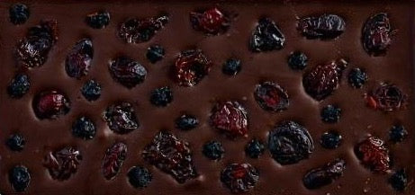 Blueberry Cranberry Cherry Dark Chocolate Antioxidant Bar