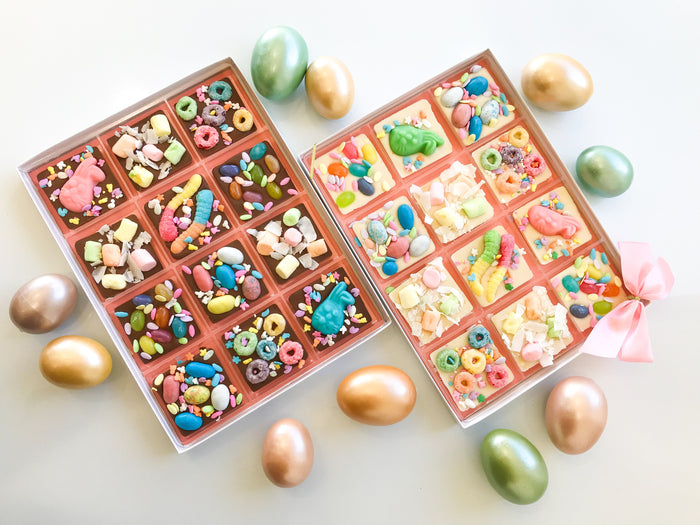 Easter Chocolate Squares Variety Packs
