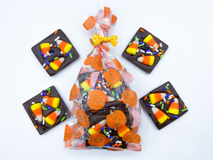 Halloween Bag of Six Chocolate Squares