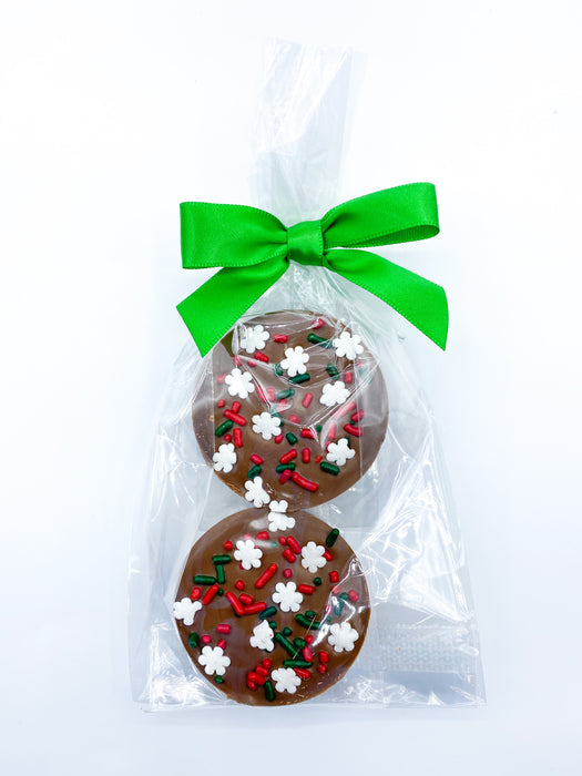 Bag of 2 Holiday Chocolate Covered Oreos