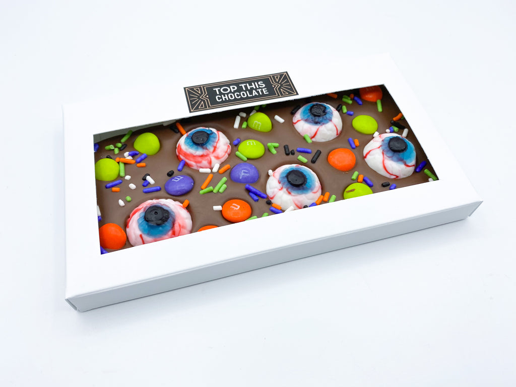 M&M Eyeball Chocolate Bar