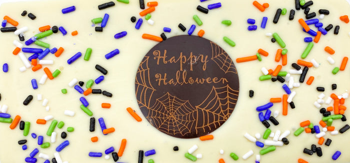 """Happy Halloween"" Chocolate Bar"
