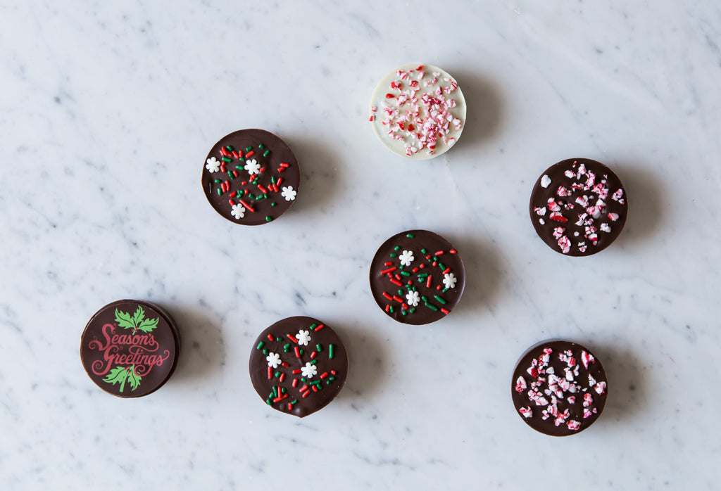Season's Greetings Chocolate Covered Oreos