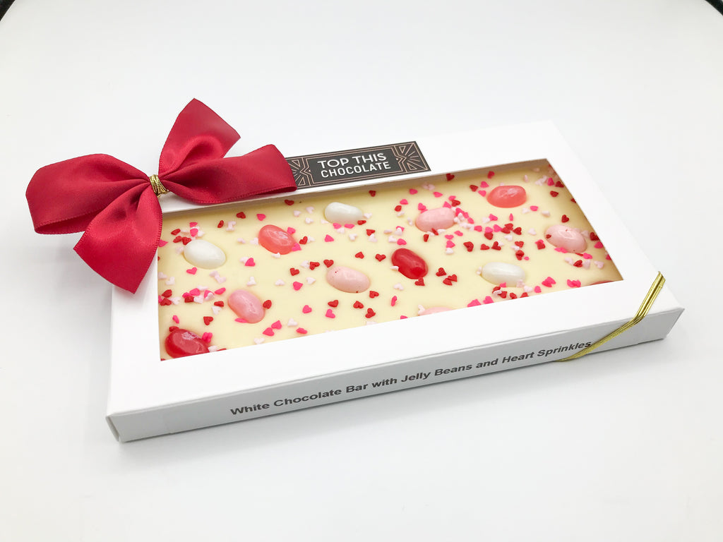 Valentine's Jelly Beans Chocolate Bar