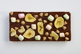Milk Chocolate Bar with Banana Chips, Peanut Butter Chips and Marshmallows