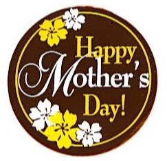 Happy Mother's Day Chocolate Plaque