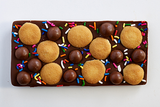 Milk Chocolate Bar with Nilla Wafers, Malted Milk Balls and Rainbow Sprinkles