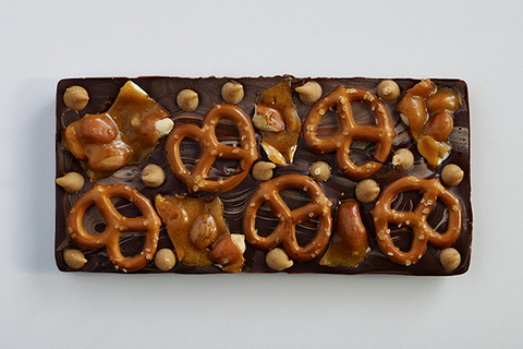 Double Peanut Pretzel Bar