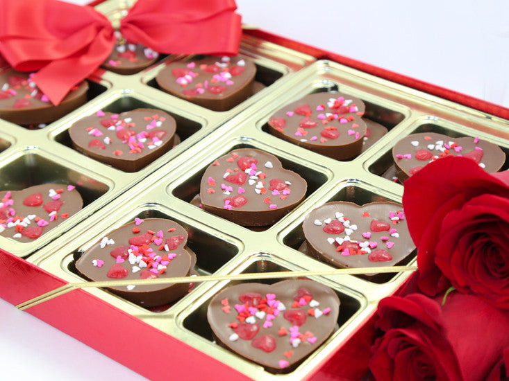 Triple Chocolate Hearts