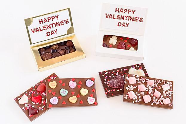 Valentine's Day Mini Chocolate Bars
