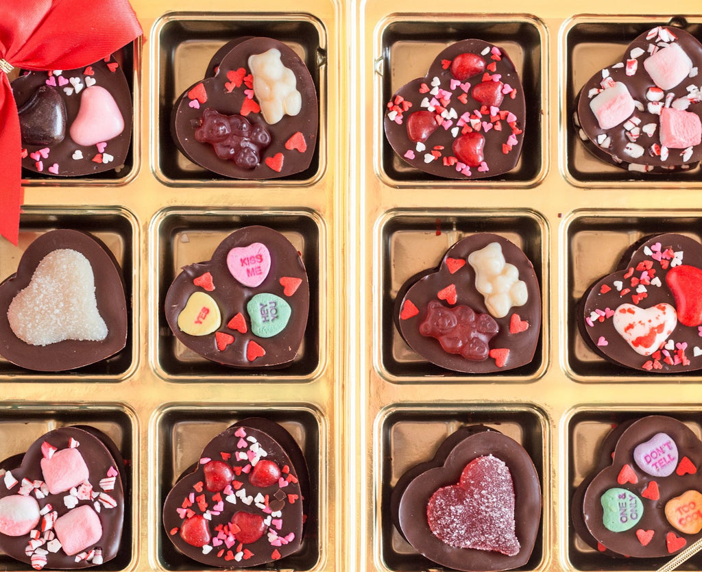 Valentine's Day Chocolate Hearts Variety Pack