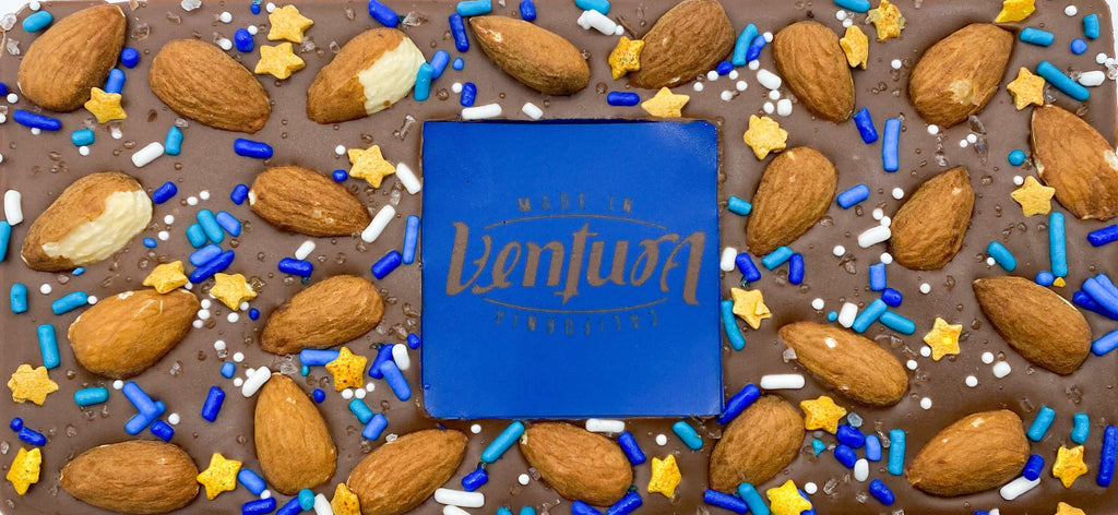 Ventura Chocolate Bar Milk Chocolate with Almonds
