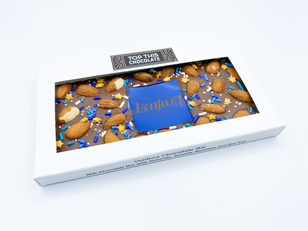 Ventura Milk Chocolate Bar with Almonds
