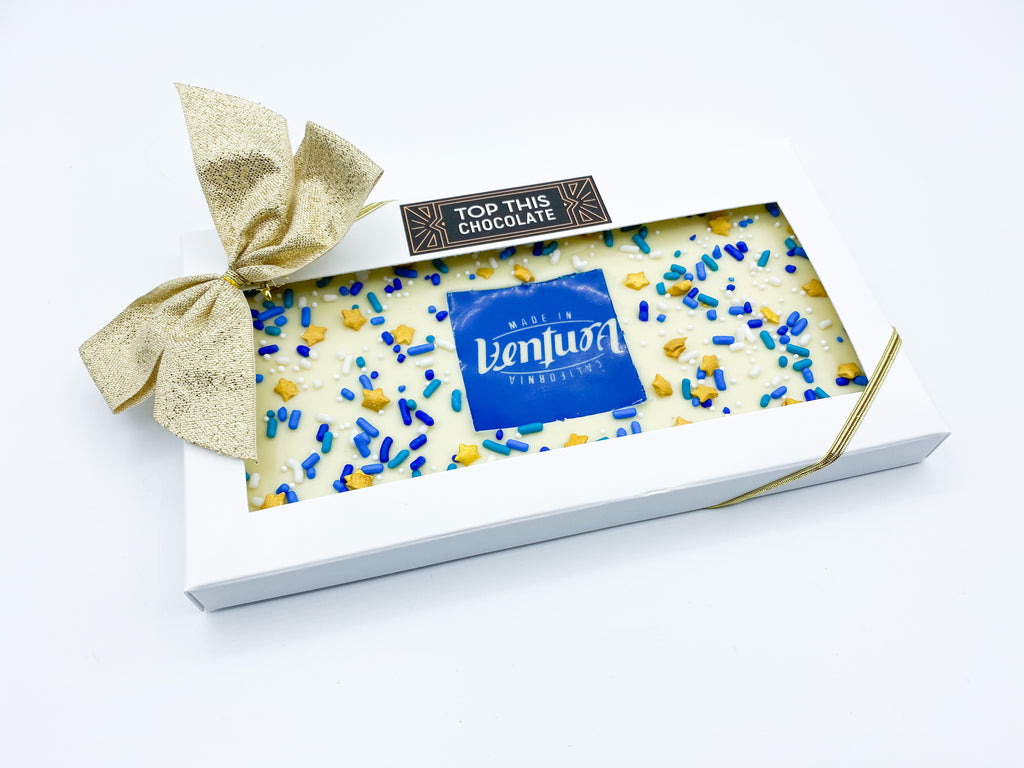 Ventura White Chocolate Bar with Bow