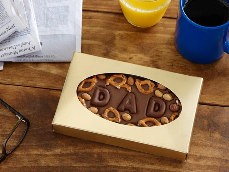 Dad loves chocolate on Father's Day