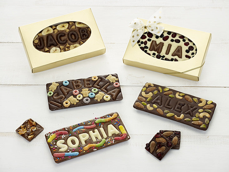 Everyone Loves to See their Name in Chocolate!