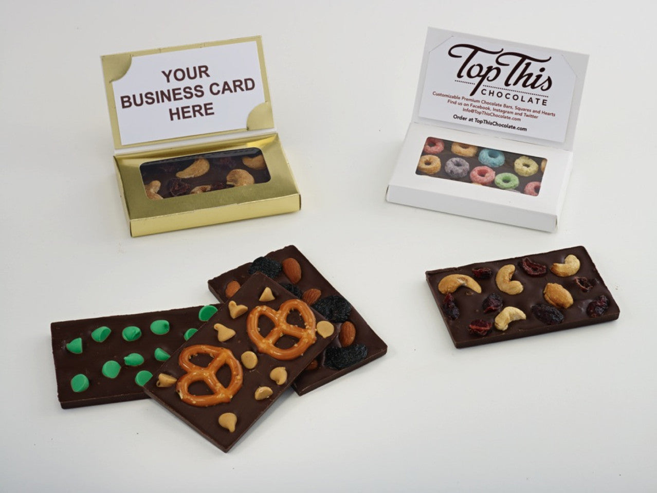 Chocolate Business Cards Make You Memorable!