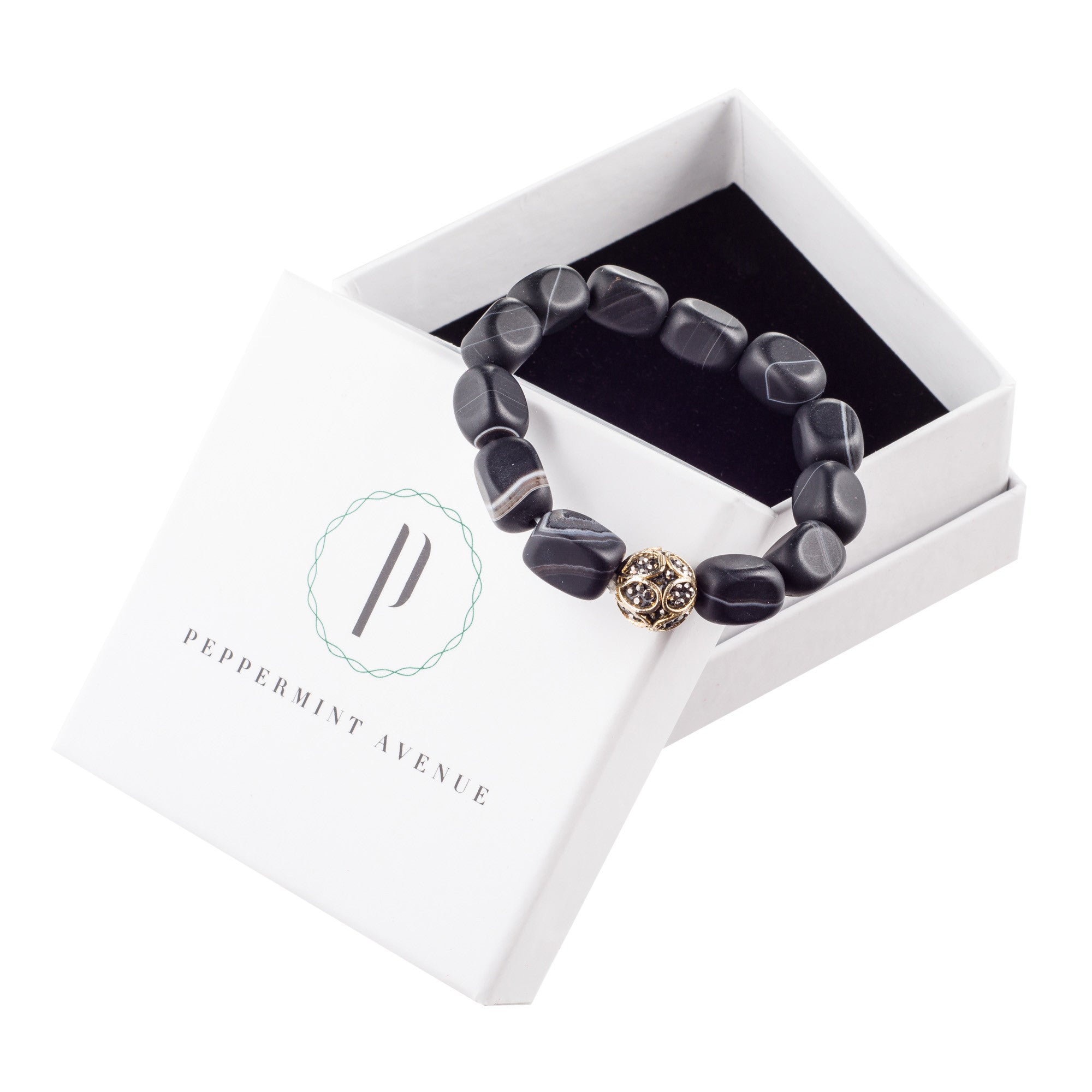 black bracelet vinepair matte the store products flask